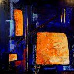 Peinture abstraite, peinture contemporaine, peinture acrylique