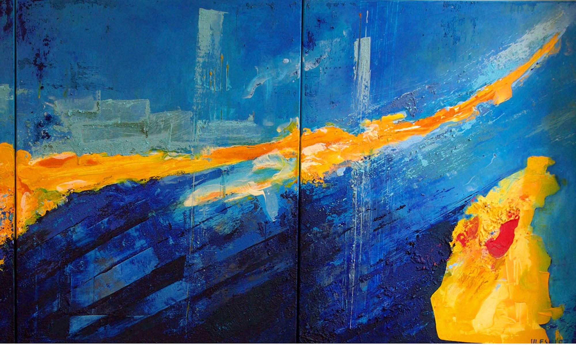 Ursula ULEKI : Peinture contemporaine abstraite dans tous ses états