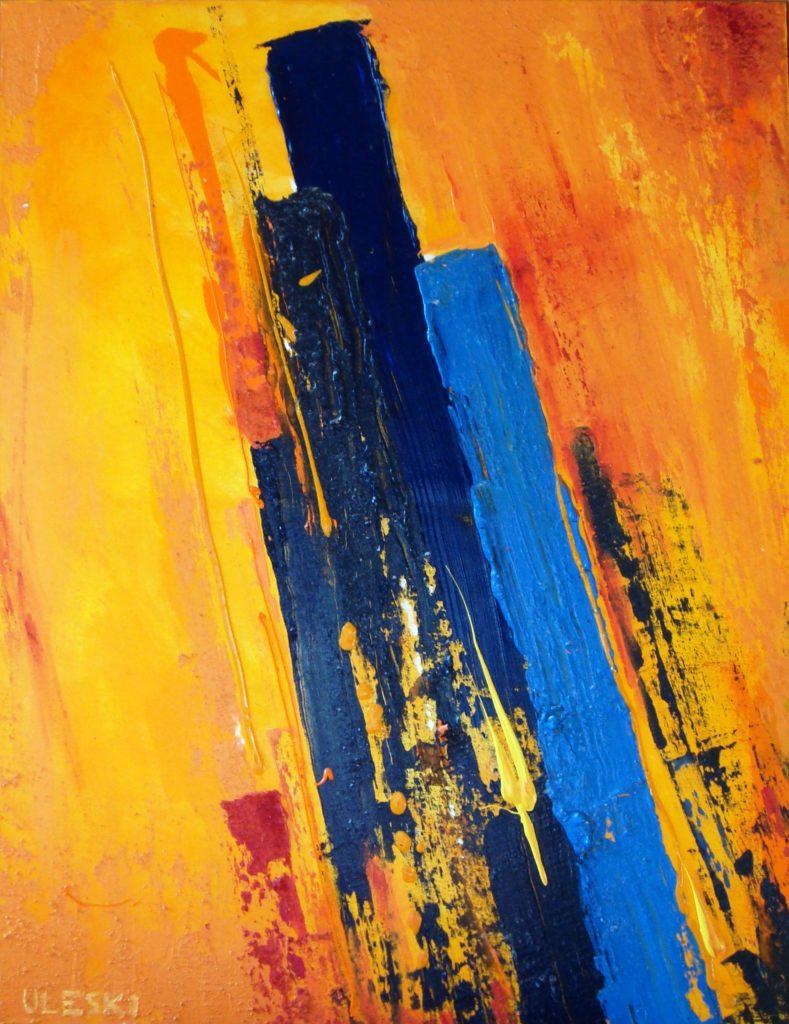 Peinture contemporaine, peinture acrylique, peinture abstraite